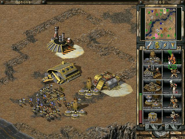 Tiberian sun trainer pack, now available in donor forums, including map